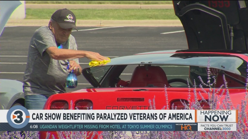 Car Show Benefiting Paralyzed Veterans Of America