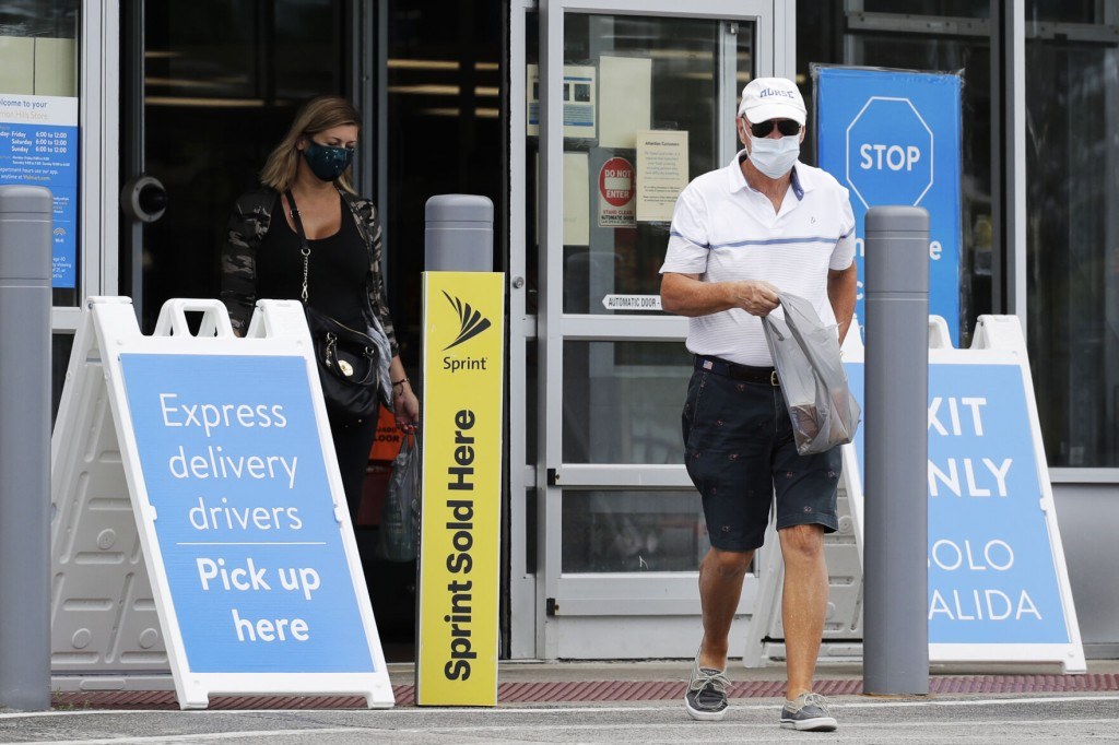 Walmart Mandates Masks For All Workers In Some Areas