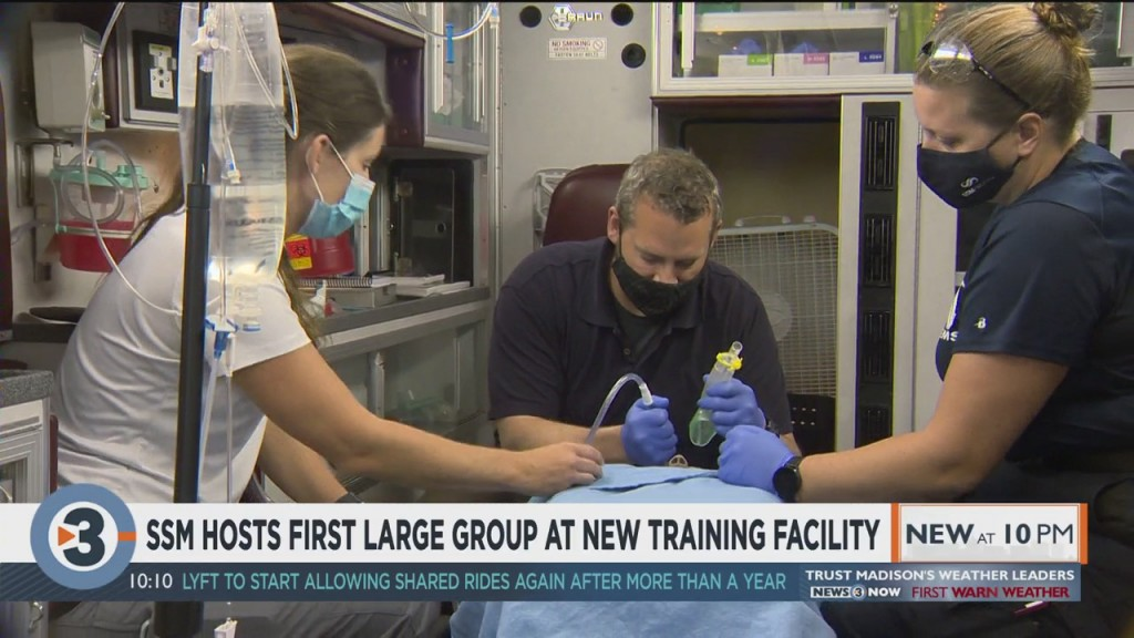 Ssm Hosts First Large Group At New Training Facility