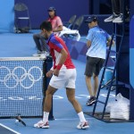 Olympic Latest: Djokovic Loses In Bronze Medal Tennis Match