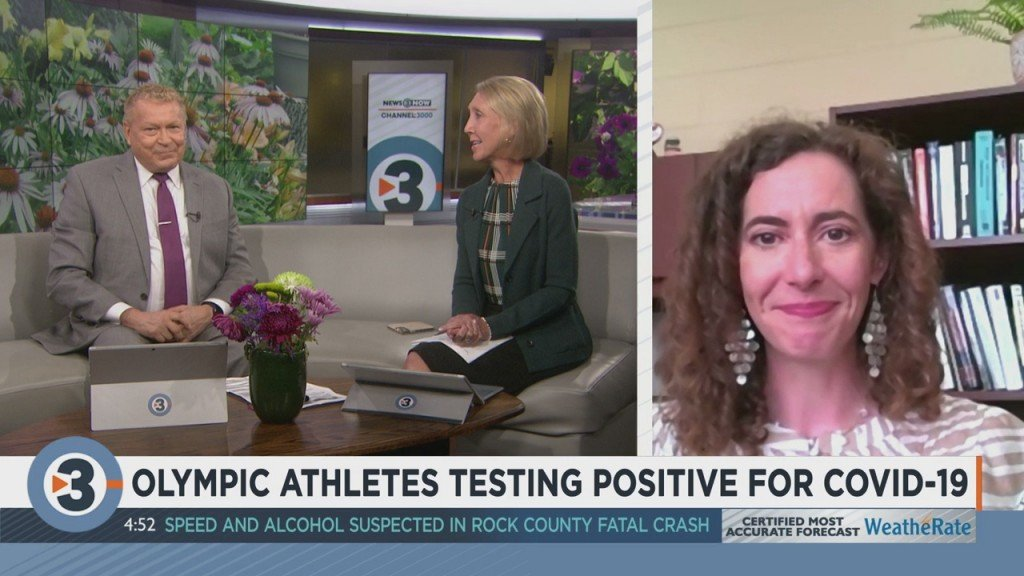 Olympic Athletes Testing Positive For Covid 19