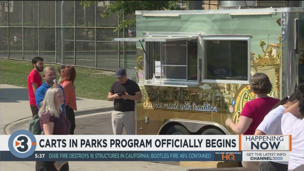 Carts In Parks Program Officially Begins