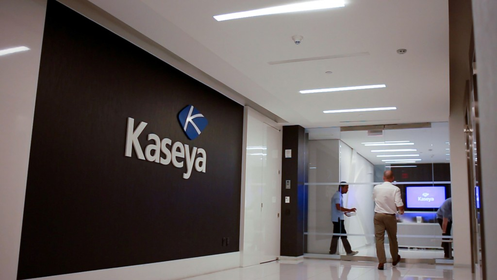 Staff Enter The Headquarters Of Information Technology Firm Kaseya In Miami