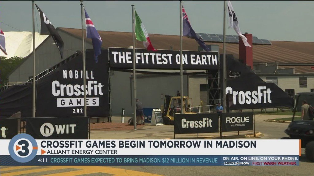 Crossfit Games Begin Tuesday In Madison