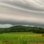 Storm Clouds In Richland County From Jackson Kinney Moments Before The Rain