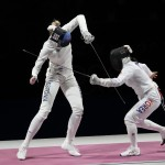 Olympics Latest: Estonia Wins Gold In Women's Epee Fencing
