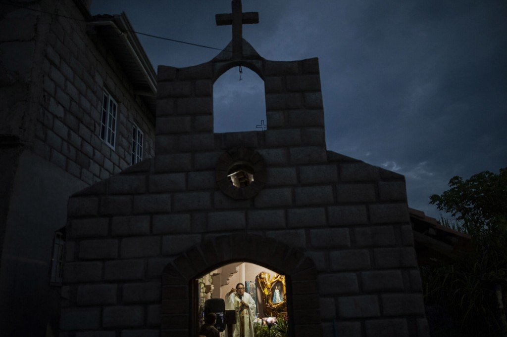 After Mudslide, Priest Gets Narcos' Help To Build New Town