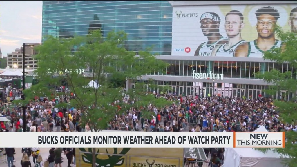 Bucks Officials Monitoring Weather Ahead Of Game 4