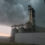 Storm Clouds Over Silos In Shullsburg Wisconsin Courtesy Of Shawn Stilson