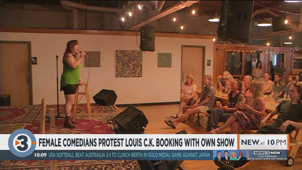 Female Comedians Protest Louis C.k. Booking With Own Show