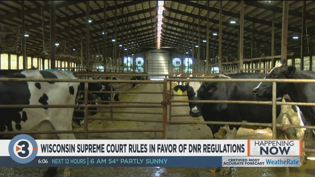 Wisconsin Supreme Court Rules In Favor Of Dnr Regulations