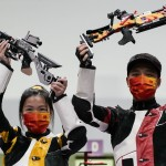Olympics Latest: China Wins Mixed Team 10 Meter Air Rifle