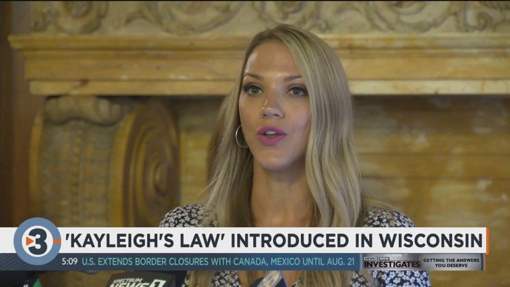 'kayleigh's Law' Proposed In Wisconsin