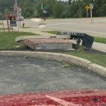 A Toppled Sign In Cross Plains Via Shannon Shileds
