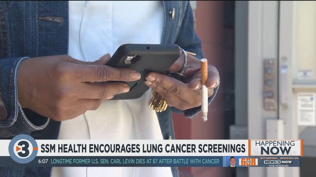 Ssm Health Encourages Lung Cancer Screenings