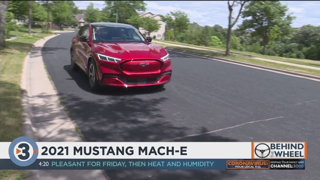 Behind The Wheel: 2021 Ford Mustang Mach E