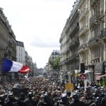 French Police Clash With Anti Virus Pass Protesters In Paris