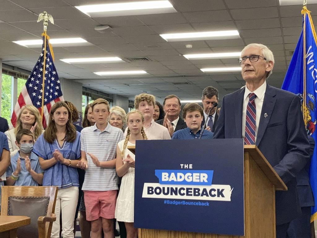 Evers Signs Gop Written State Budget With $2b Tax Cut