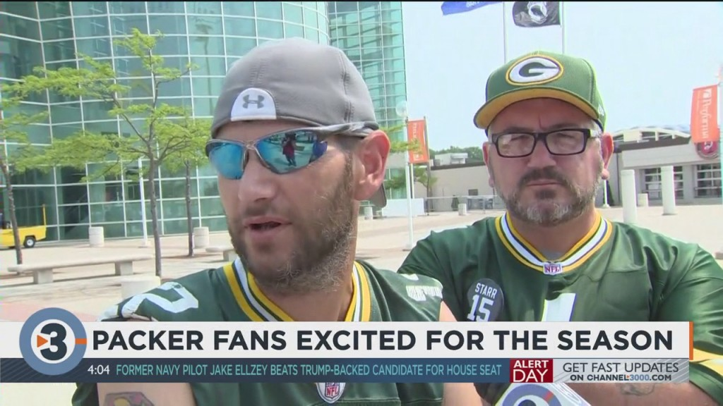 Packers Fans Excited For Season, Return Of Training Camp
