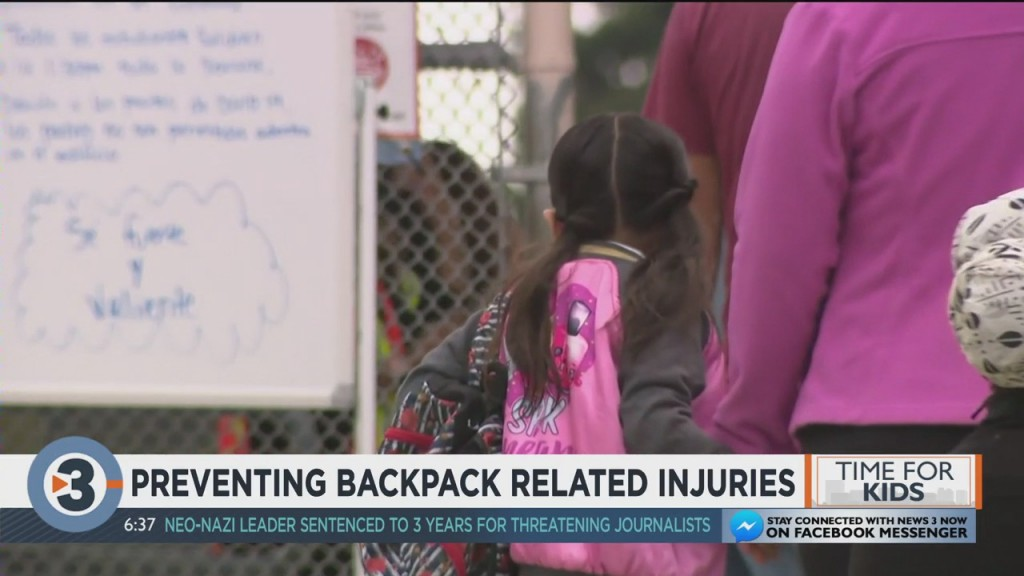 Ssm Health: How To Properly Fit Your Child's Backpack