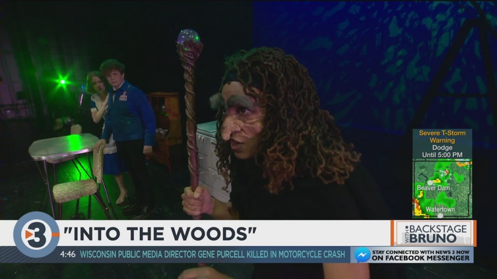 Backstage With Bruno: Into The Woods