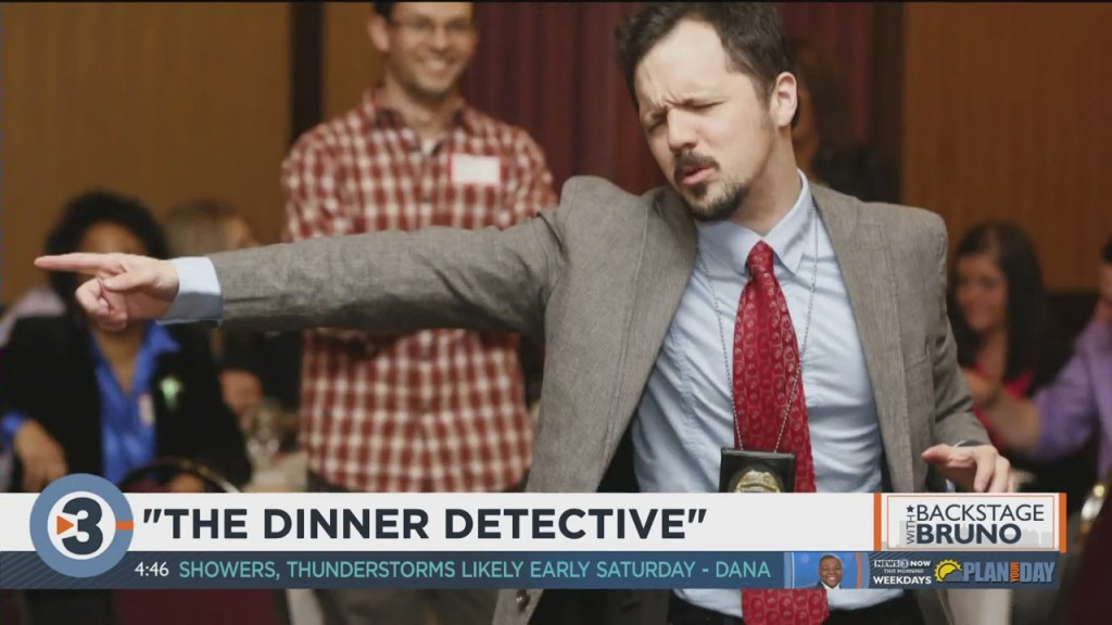Backstage With Bruno: The Dinner Detective