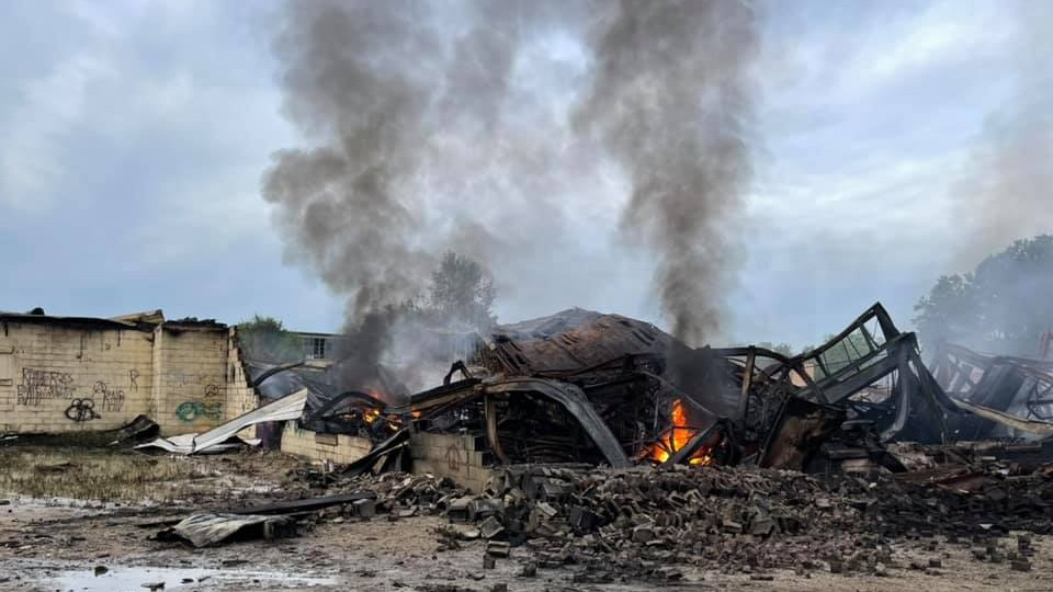Fort Atkinson Fire Rubble