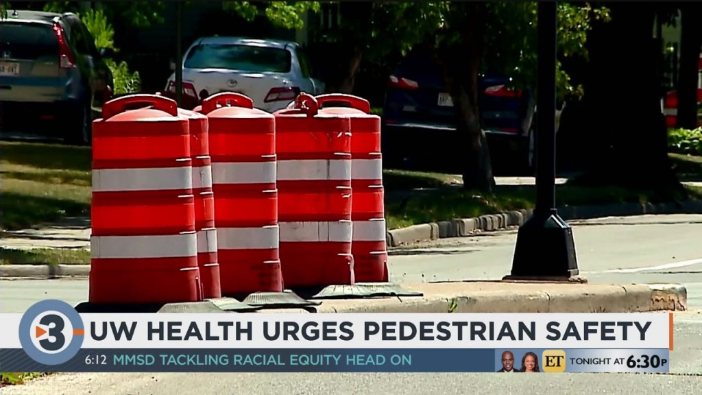 Uw Health Encourages Drivers To Watch For Kids Crossing The Street