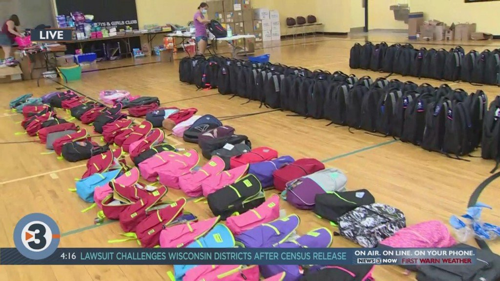 Boys & Girls Club Back To School Donation Drive Comes To A Close