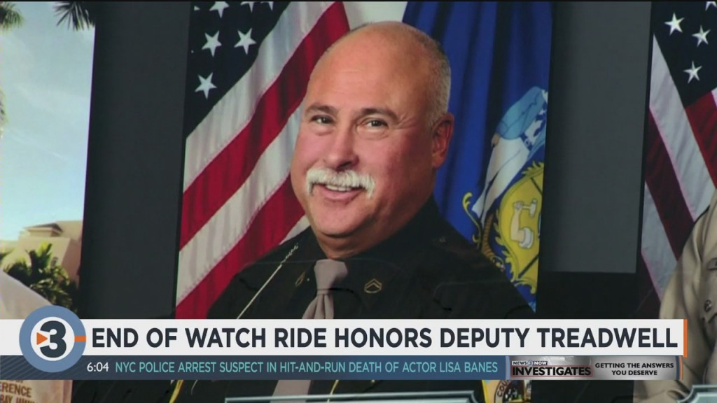 End Of Watch Ride Honors Deputy Treadwell