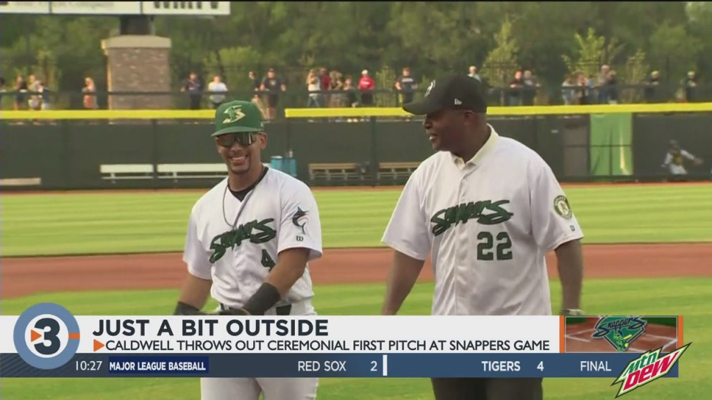 Caldwell's First Pitch