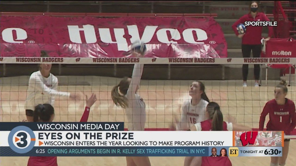 Uw Volleyball Keeps Eyes On The Prize
