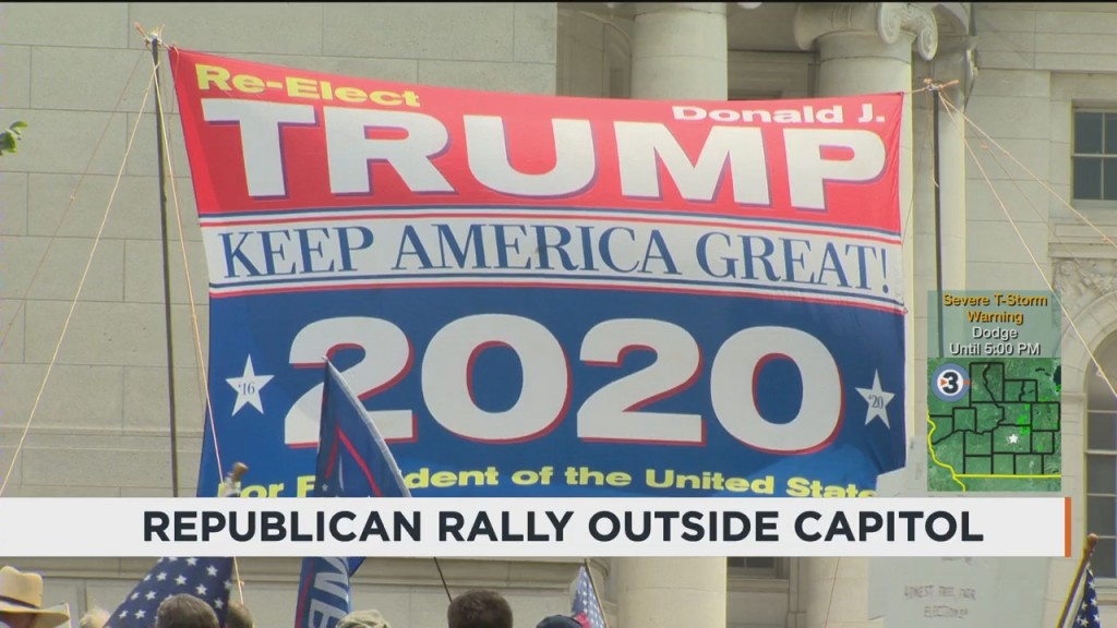 Republican Rally Held Outside Capitol