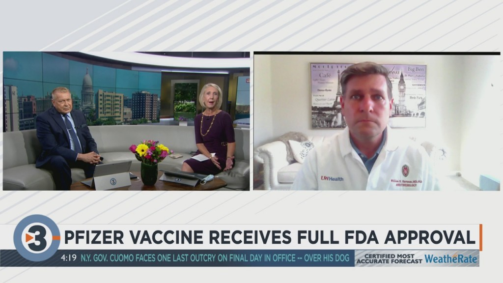 Local Doctor Reacts To Pfizer Covid Vaccine Getting Full Fda Approval