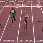 Mclaughlin Outsprints Teammate Muhammad For Hurdles Record