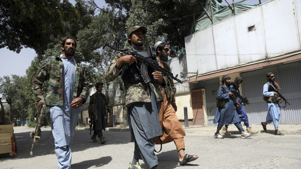 The Latest: Plea To Taliban To Protect Afghan Women's Rights