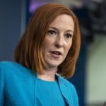 The Latest: Psaki Criticizes Policy In States Blocking Masks