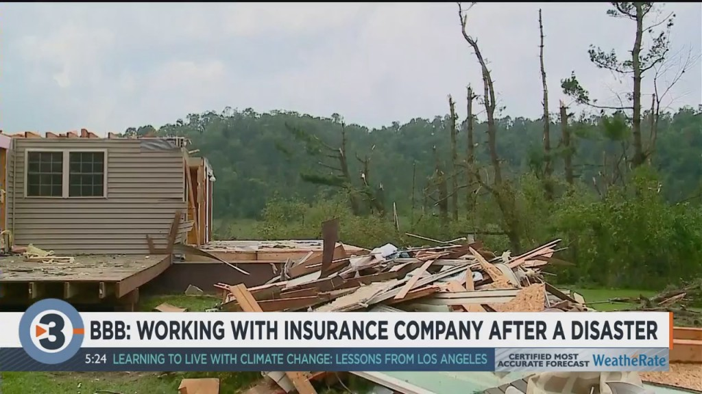 Bbb: Working With Insurance Companies After A Disaster