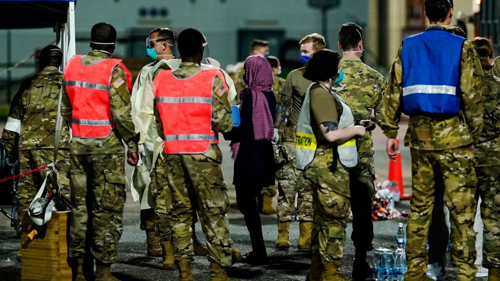 Conflict In Afghanistan Arrival At Ramstein Air Base