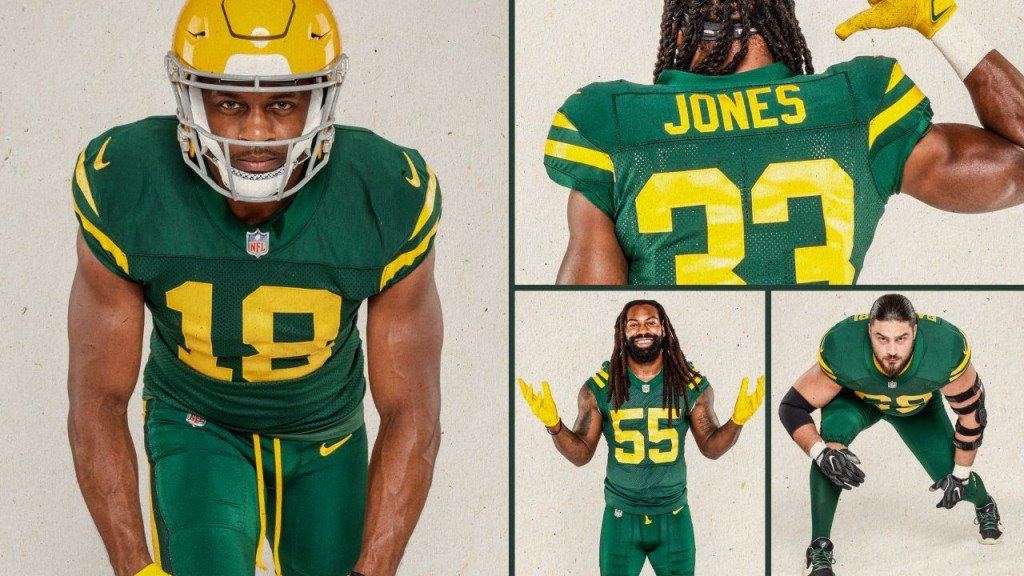 Packers New Uniforms