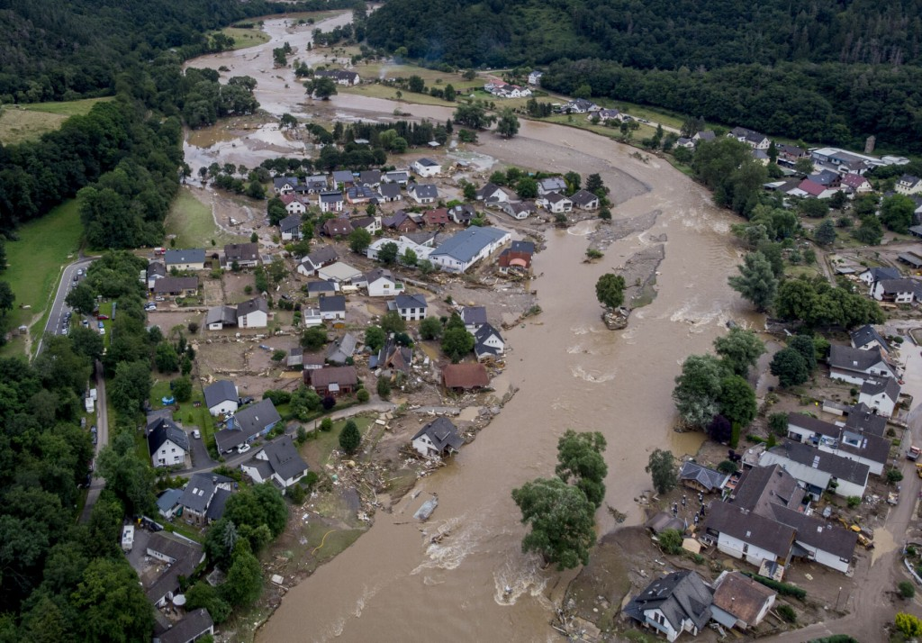 Mayors Of Flood Hit German Towns Call For More Aid