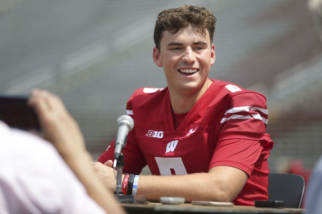 No. 12 Badgers Eager To Show Offense Is Back Vs Penn State
