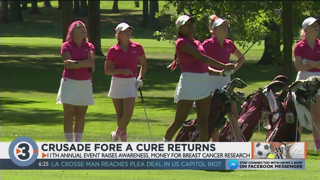Edgewood Girls Golf Holds The Crusade For A Cure Event