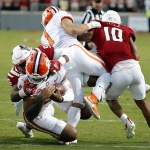 Clemson Falls To No. 25 In Ap Poll, Snapping Top 10 Streak