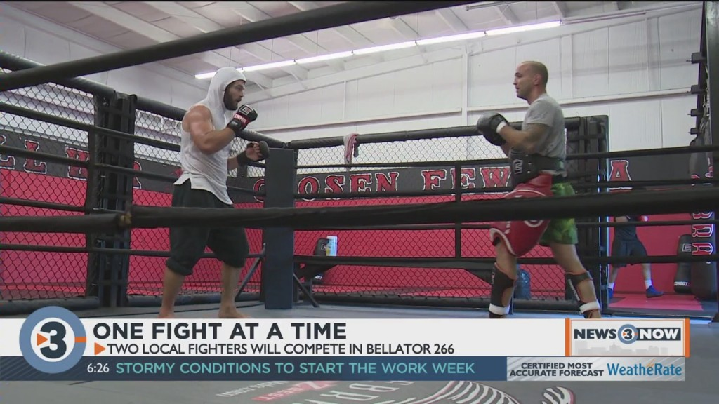 Local Fighters To Compete In Bellator 266