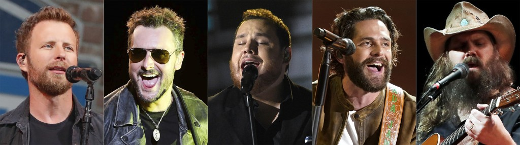 Chris Stapleton, Eric Church Share Top Cma Nominations. Here's The Full List Of Nominees