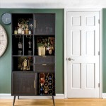 interior space with a liquor cabinet