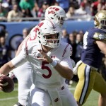 Chryst Says Wisconsin's Troubles On Offense Go Beyond Mertz