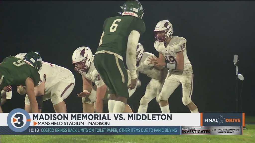 Middleton Takes Down Memorial To Stay Perfect In Big 8 Play
