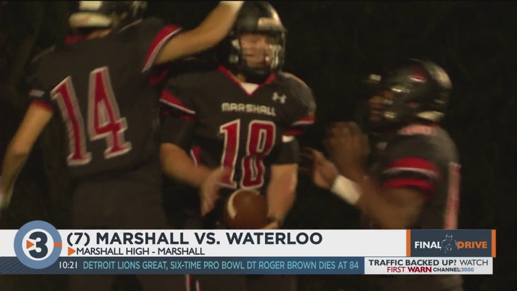 Marshall Come Back To Beat Waterloo In Thriller